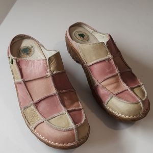 El naturalista womens pink and tan size 9